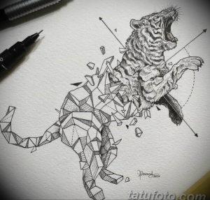 Фото тату геометрия эскизы 13.09.2019 №015 - tattoo geometry sketches - tattoo-photo.ru