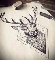 Фото тату геометрия эскизы 13.09.2019 №034 — tattoo geometry sketches — tattoo-photo.ru