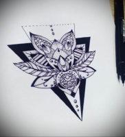 Фото тату геометрия эскизы 13.09.2019 №035 — tattoo geometry sketches — tattoo-photo.ru