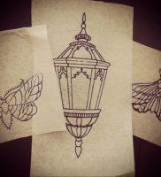 Фото тату эскизы легкие 13.09.2019 №006 — tattoo sketches light — tattoo-photo.ru