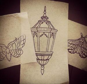 Фото тату эскизы легкие 13.09.2019 №006 - tattoo sketches light - tattoo-photo.ru