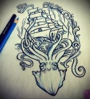 Фото тату эскизы легкие 13.09.2019 №009 — tattoo sketches light — tattoo-photo.ru