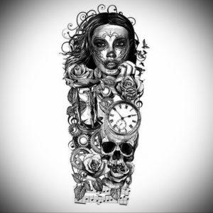 Фото тату эскизы мужские 13.09.2019 №008 - tattoo sketches for men - tattoo-photo.ru