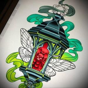 Фото цветные эскизы тату 13.09.2019 №016 - color tattoo sketches - tattoo-photo.ru