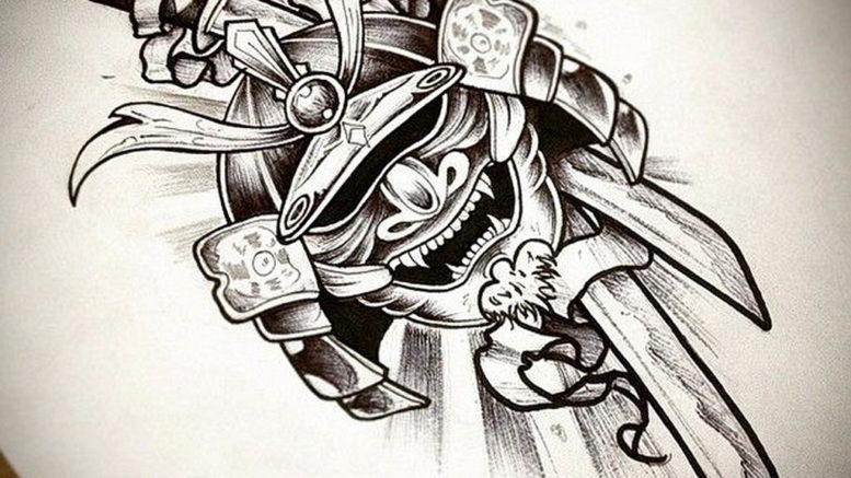 Фото черные тату эскизы 13.09.2019 №028 - black tattoo sketches - tattoo-photo.ru