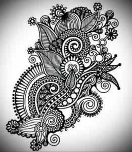 Фото эскизы тату цветы 13.09.2019 №010 - flower sketch designs - tattoo-photo.ru