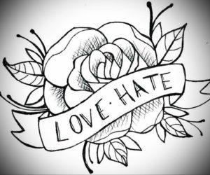 Фото эскизы тату цветы 13.09.2019 №020 - flower sketch designs - tattoo-photo.ru