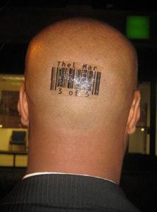 тату надписи на затылке 24.09.2019 №013 -the back of the head tattoo- tattoo-photo.ru