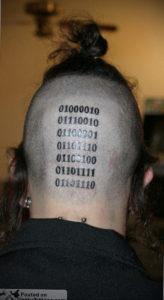 фото татуировки на затылке 24.09.2019 №016 -the back of the head tattoo- tattoo-photo.ru