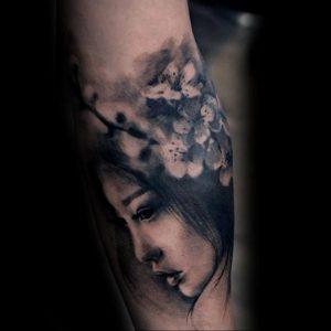 Фото вариант тату сакура на запястье 09.02.2020 №001 -sakura tattoo- tattoo-photo.ru