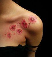 Фото тату цветок закуры 09.02.2020 №084 -sakura tattoo- tattoo-photo.ru