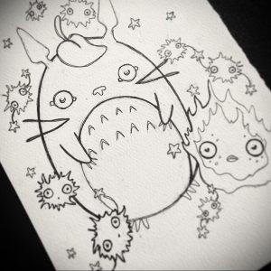 аниме тату эскизы 19.01.2020 №005 -anime tattoo sketches- tattoo-photo.ru