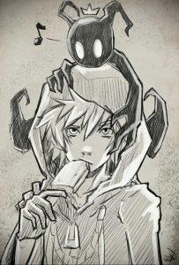аниме тату эскизы 19.01.2020 №008 -anime tattoo sketches- tattoo-photo.ru