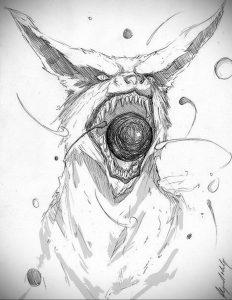 аниме тату эскизы 19.01.2020 №014 -anime tattoo sketches- tattoo-photo.ru