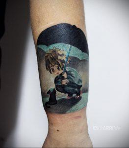 аниме тату 19.01.2020 №236 -anime tattoo- tattoo-photo.ru