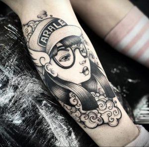 аниме тату 19.01.2020 №237 -anime tattoo- tattoo-photo.ru