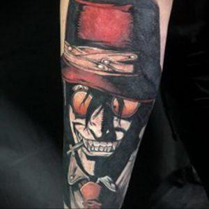 аниме тату 19.01.2020 №238 -anime tattoo- tattoo-photo.ru