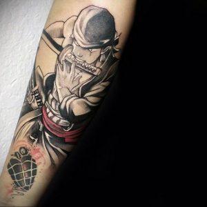 аниме тату 19.01.2020 №242 -anime tattoo- tattoo-photo.ru