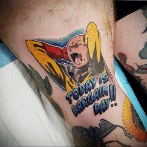 аниме тату 19.01.2020 №271 -anime tattoo- tattoo-photo.ru