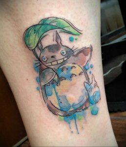 аниме тату 19.01.2020 №290 -anime tattoo- tattoo-photo.ru