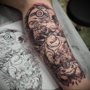 аниме тату 19.01.2020 №304 -anime tattoo- tattoo-photo.ru