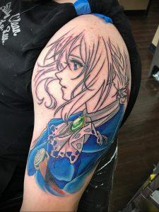 аниме тату 19.01.2020 №313 -anime tattoo- tattoo-photo.ru