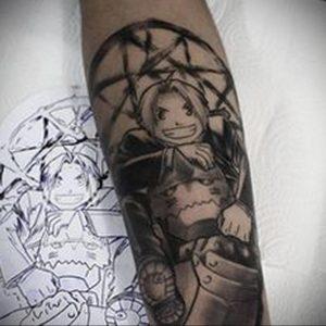 тату аниме арт 18.01.2020 №008 -anime art tattoo- tattoo-photo.ru