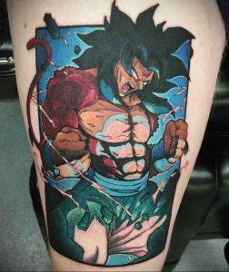 тату аниме арт 18.01.2020 №011 -anime art tattoo- tattoo-photo.ru