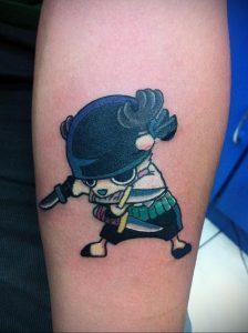 тату аниме арт 18.01.2020 №017 -anime art tattoo- tattoo-photo.ru