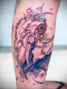 тату аниме арт 18.01.2020 №047 -anime art tattoo- tattoo-photo.ru