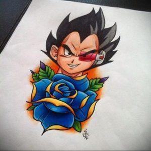 тату аниме арт 18.01.2020 №052 -anime art tattoo- tattoo-photo.ru