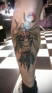 тату аниме арт 18.01.2020 №057 -anime art tattoo- tattoo-photo.ru