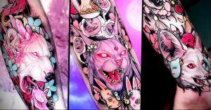 тату аниме арт 18.01.2020 №063 -anime art tattoo- tattoo-photo.ru
