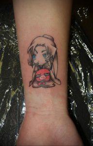 тату аниме арт 18.01.2020 №103 -anime art tattoo- tattoo-photo.ru