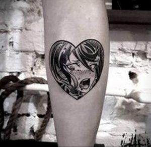 тату аниме арт 18.01.2020 №106 -anime art tattoo- tattoo-photo.ru