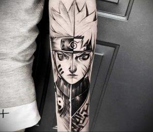 тату в стиле аниме 18.01.2020 №052 -anime style tattoo- tattoo-photo.ru