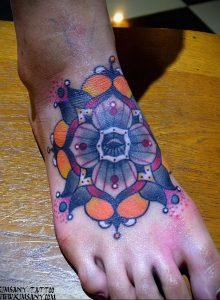 фото пример тату мандала 04.02.2020 №019 -mandala tattoo- tattoo-photo.ru