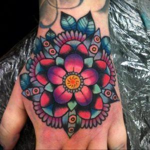 фото пример тату мандала 04.02.2020 №036 -mandala tattoo- tattoo-photo.ru