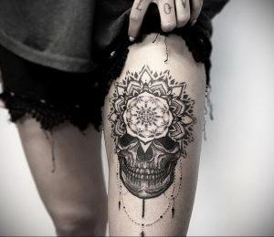 фото пример тату мандала 04.02.2020 №039 -mandala tattoo- tattoo-photo.ru