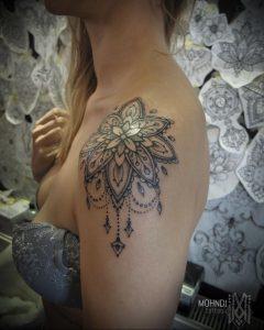 фото пример тату мандала 04.02.2020 №046 -mandala tattoo- tattoo-photo.ru