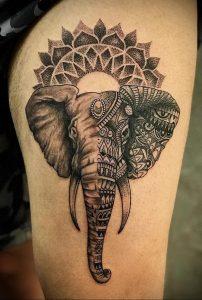 фото пример тату мандала 04.02.2020 №055 -mandala tattoo- tattoo-photo.ru