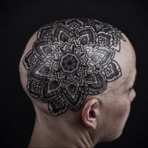 фото пример тату мандала 04.02.2020 №070 -mandala tattoo- tattoo-photo.ru