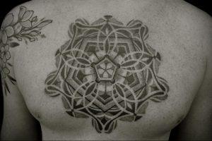 фото пример тату мандала 04.02.2020 №074 -mandala tattoo- tattoo-photo.ru