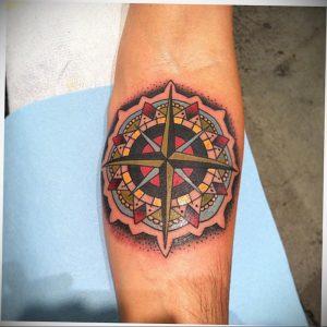 фото пример тату мандала 04.02.2020 №090 -mandala tattoo- tattoo-photo.ru