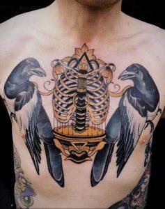 фото тату птица в клетке 02.01.2019 №048 -bird cage tattoo- tattoo-photo.ru