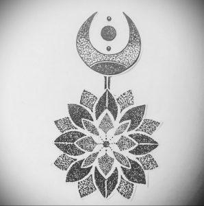 фото эскиза тату мандала 04.02.2020 №172 -mandala tattoo- tattoo-photo.ru