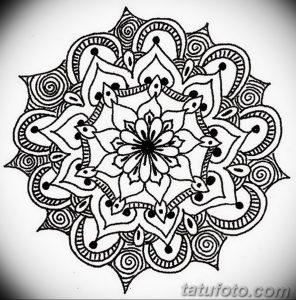 фото эскиза тату мандала 04.02.2020 №175 -mandala tattoo- tattoo-photo.ru