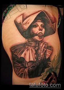 Тату Монашка пример рисунка 16.02.2020 №1155 -tattoo nun- tattoo-photo.ru