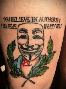 Фоторисунка татуировки анархия 24.03.2020 №002 -tattoo anarchy- tattoo-photo.ru