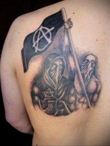 Фоторисунка татуировки анархия 24.03.2020 №003 -tattoo anarchy- tattoo-photo.ru